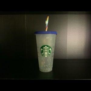 Confetti Starbucks cup
